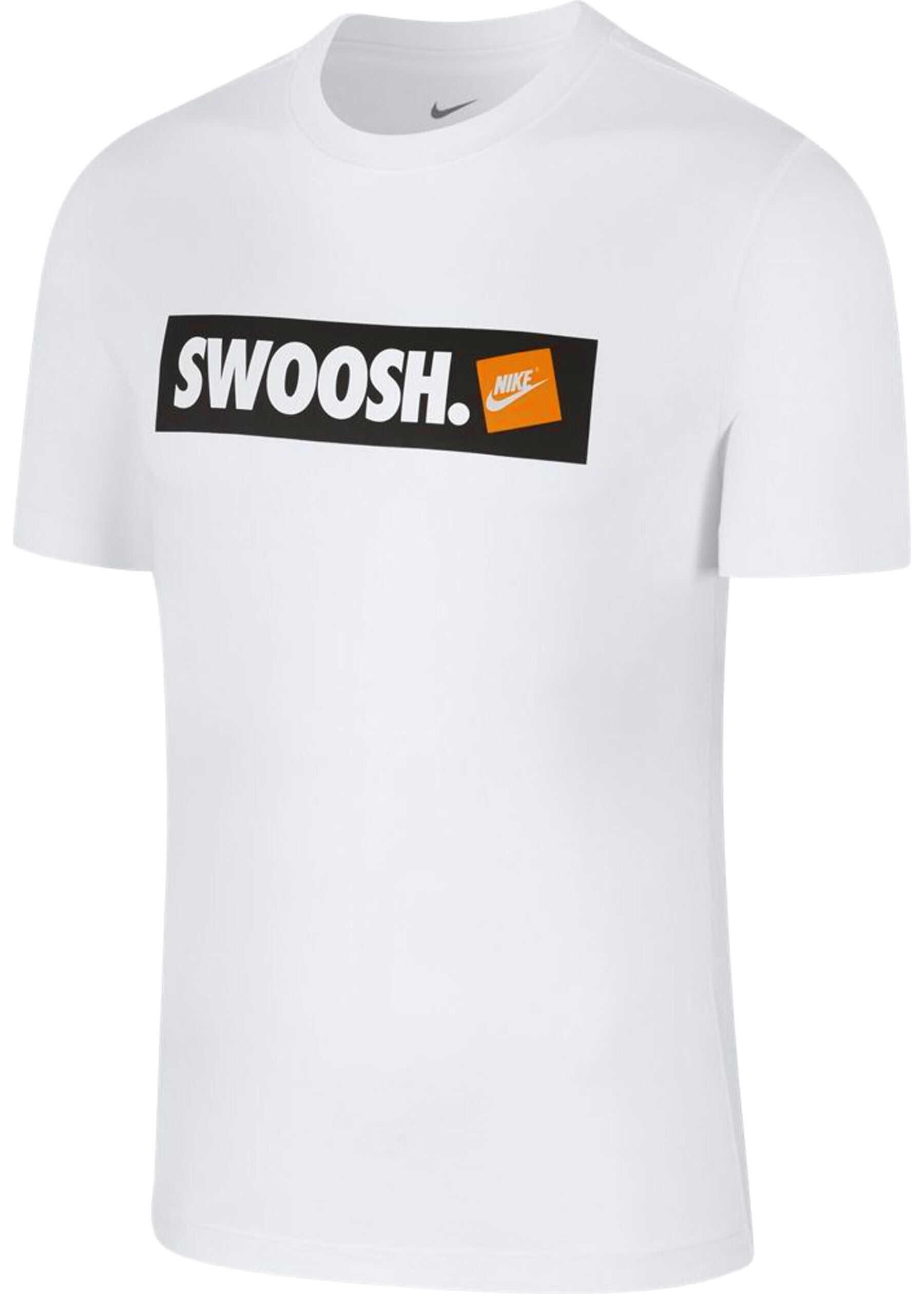 Nike Tee Swoosh Bmpr* Alb