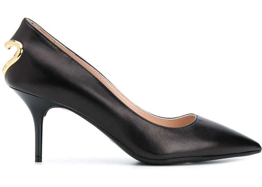 LOVE Moschino Leather Pumps* BLACK