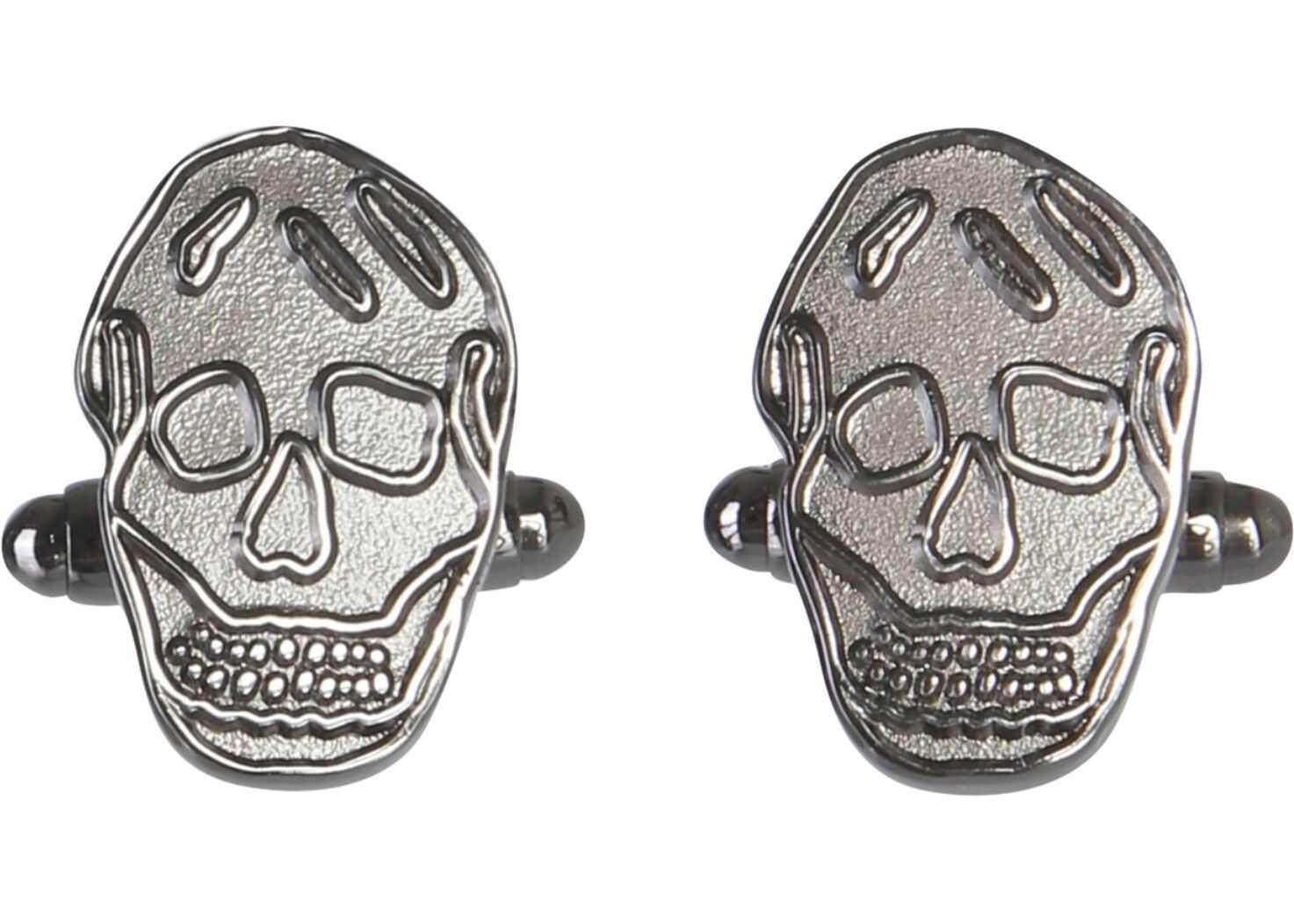 Alexander McQueen Skull Cufflinks SILVER