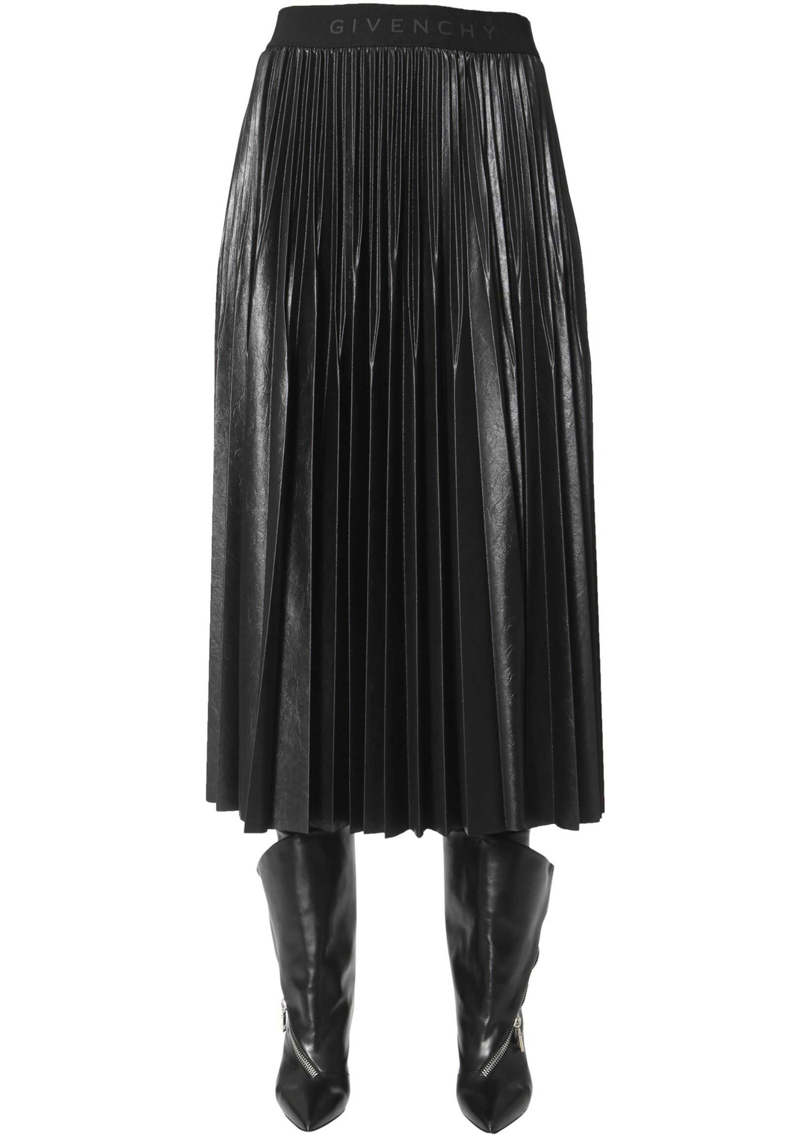 Givenchy Pleated Skirt BLACK