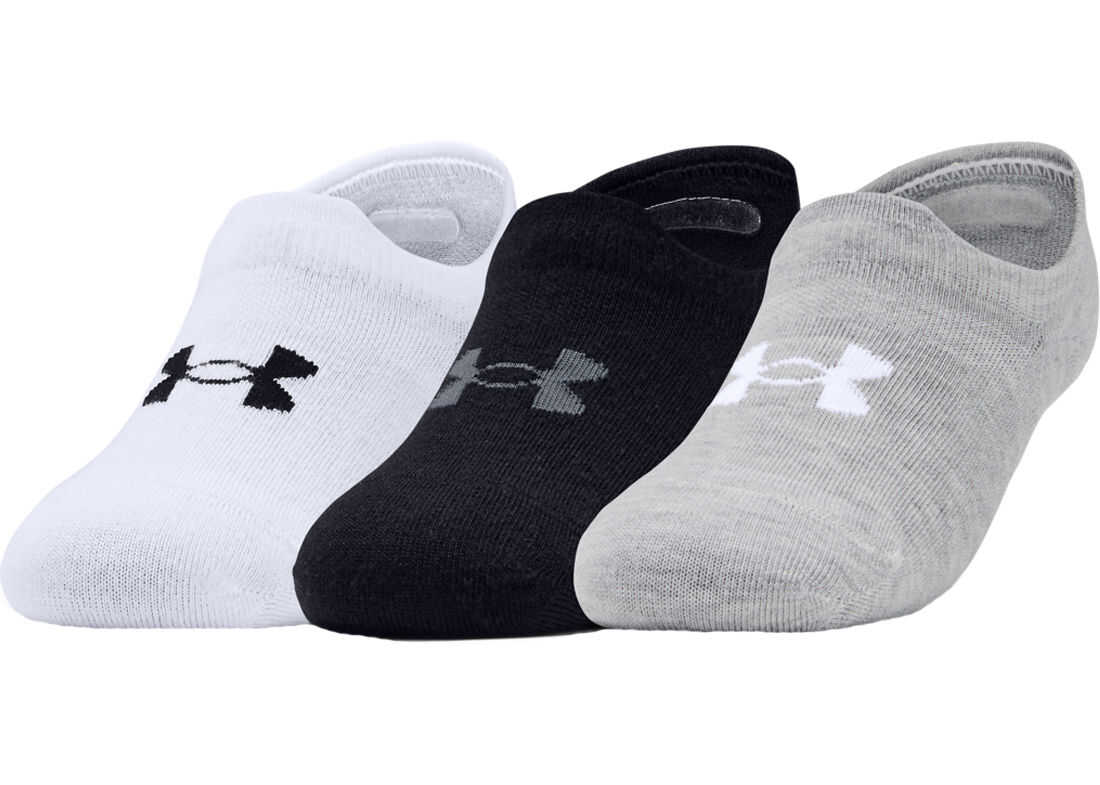 Under Armour Ultra Lo Socks* White