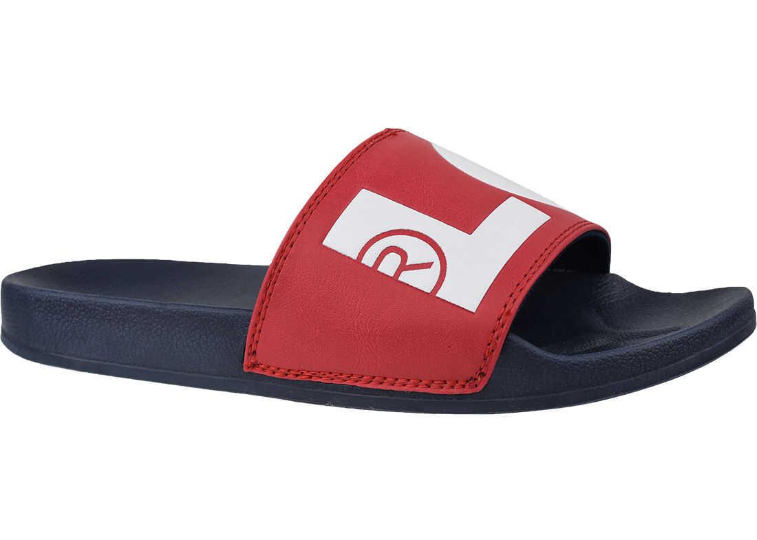 Levi's® Batwing Slide Sandal* Red