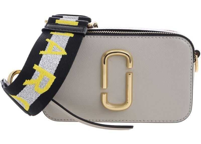 Marc Jacobs Snapshot Marc Bag In Taupe Color* Grey