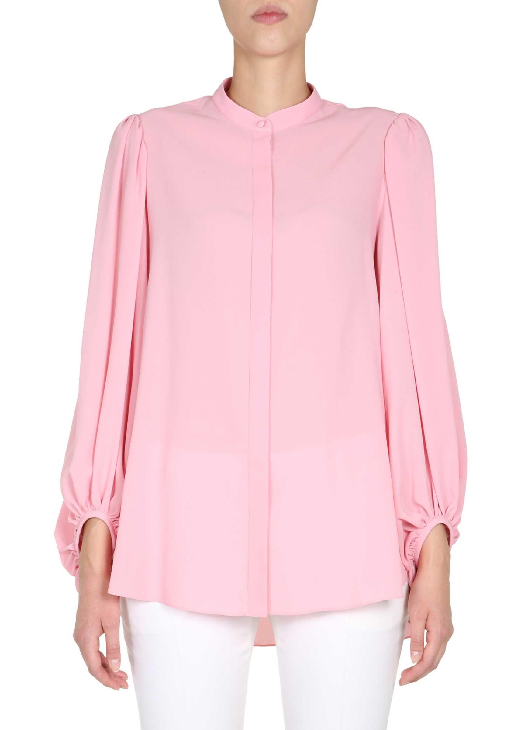 Alexander McQueen Silk Shirt PINK