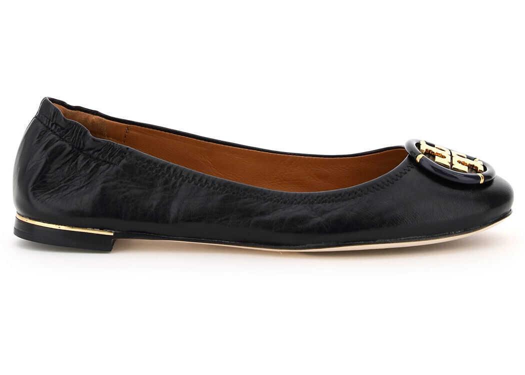 Tory Burch Minnie Ballet Flats 74062 PERFECT BLACK PERFECT BLACK imagine b-mall.ro