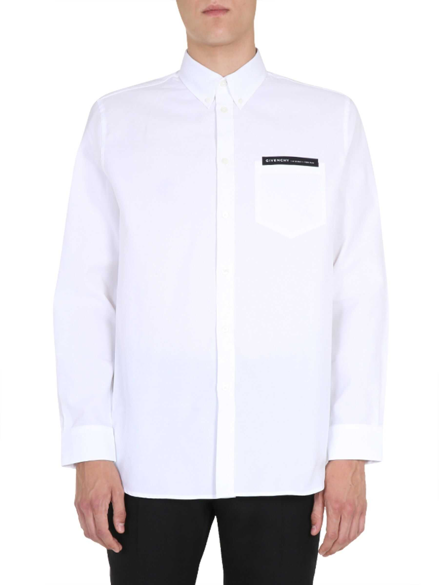 Givenchy Button Down Shirt WHITE imagine