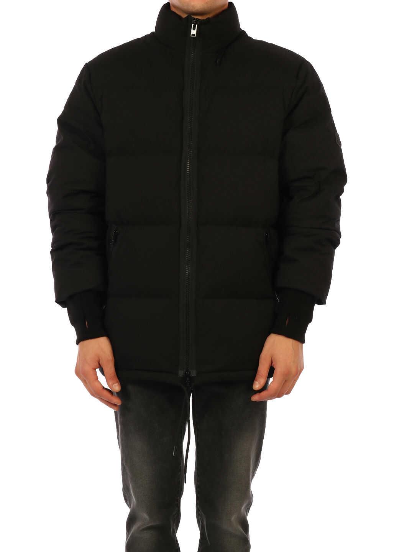 Kenzo Down Jacket Black imagine