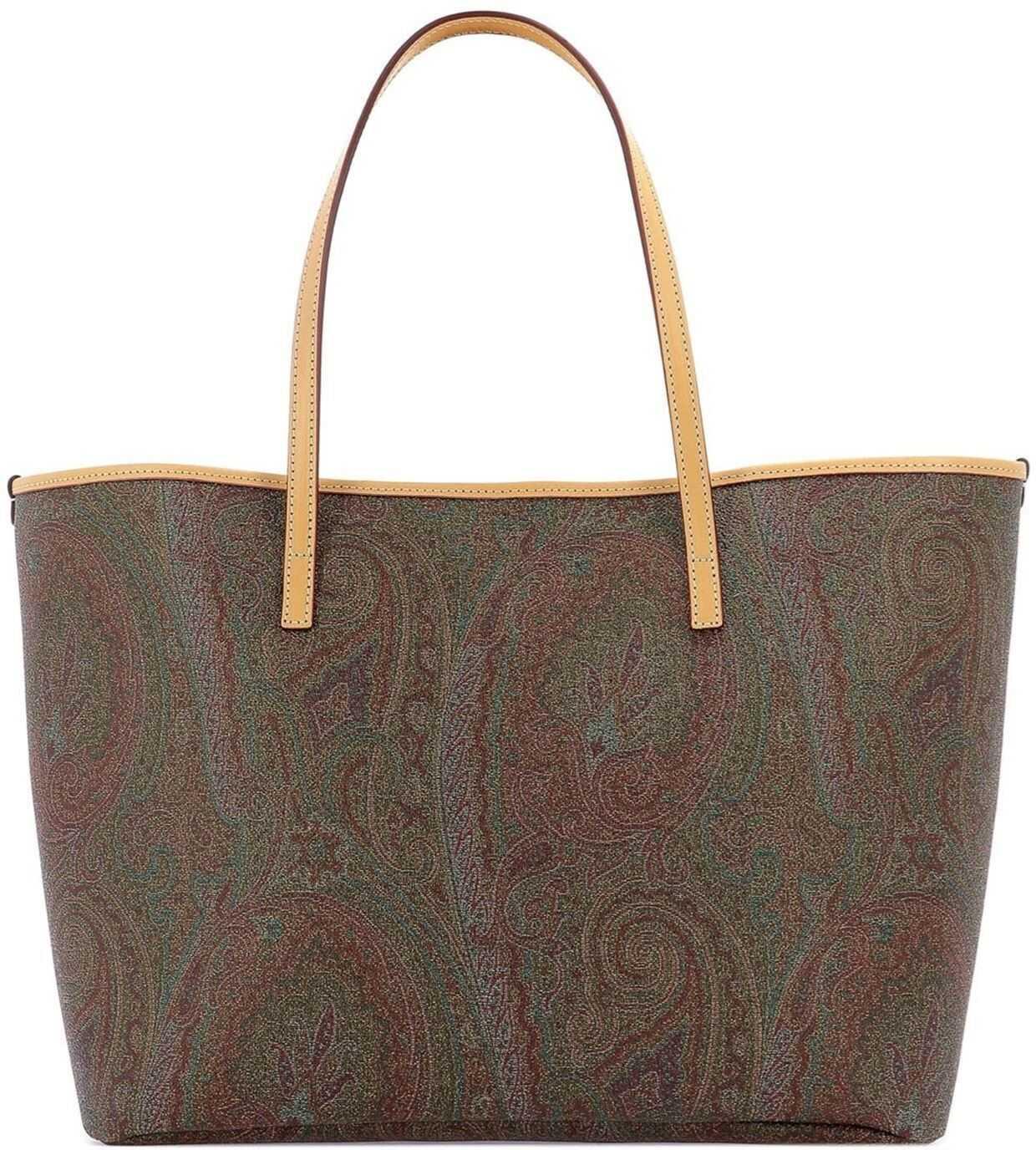ETRO Paisley Tote Bag 0B3748 0100 600 Multi imagine b-mall.ro