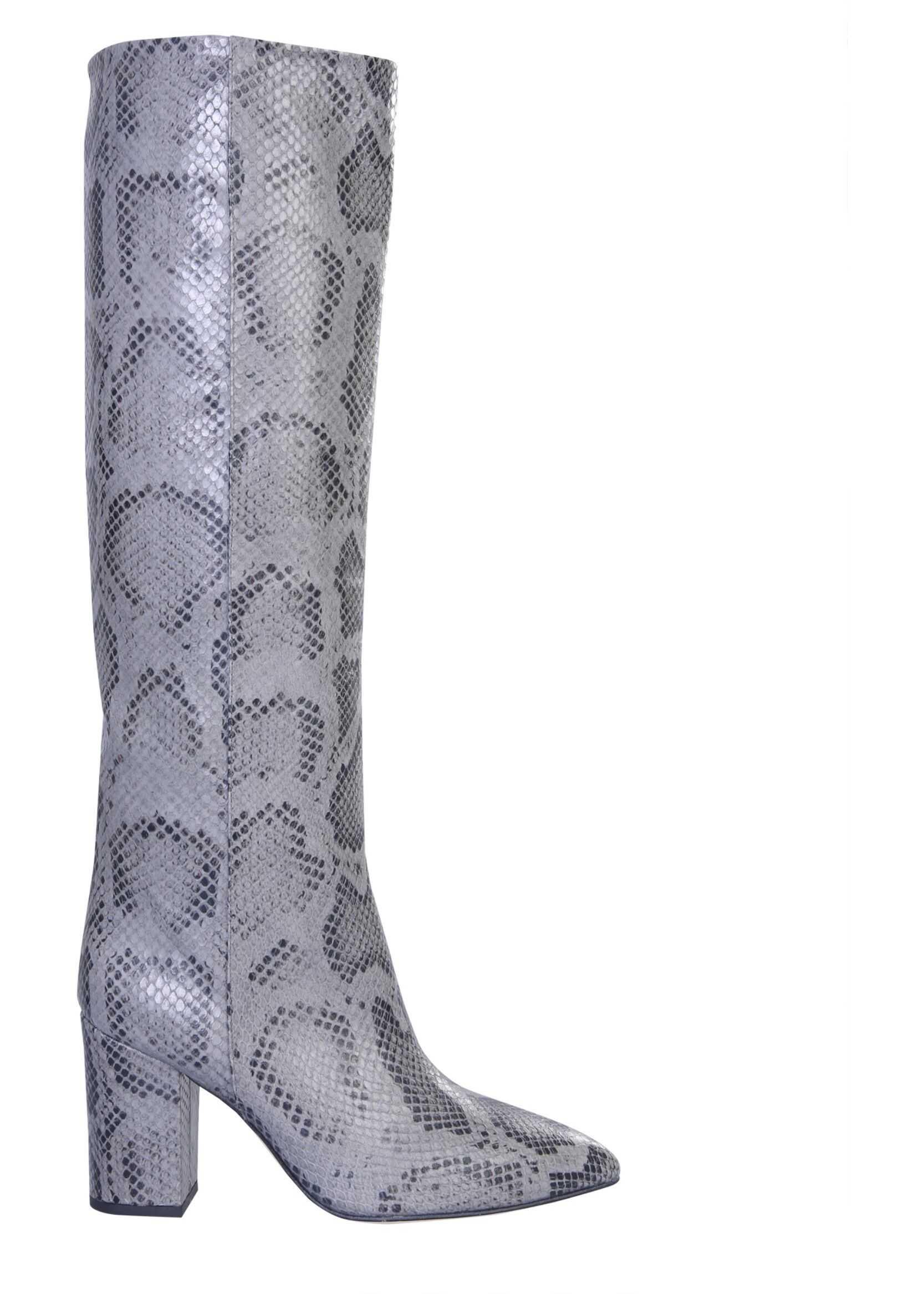 Paris Texas High Boots PX166_XPMBBGRIGIO GREY imagine b-mall.ro