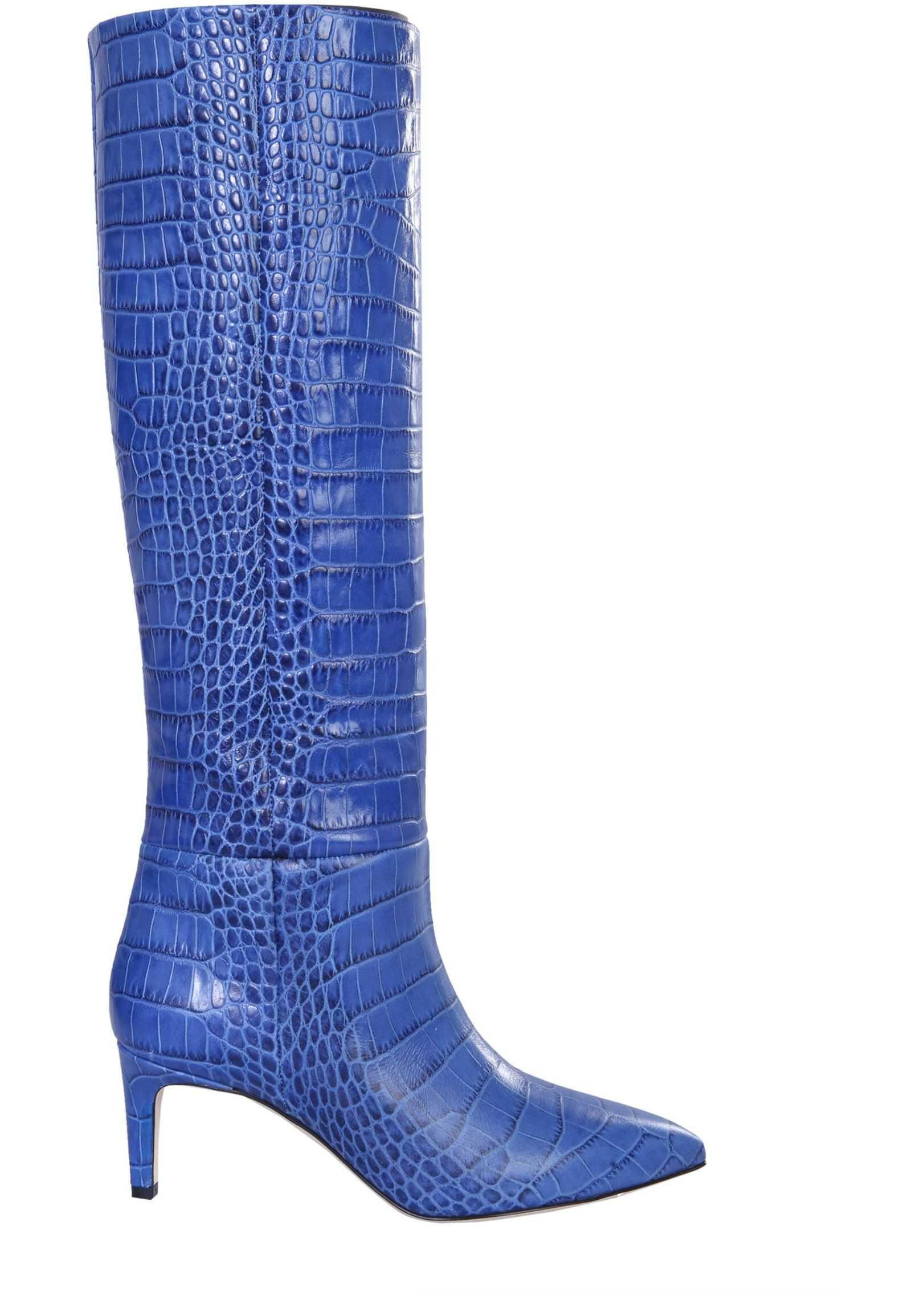 Paris Texas High Boots PX503_XCAG2BLUETTE BLUE imagine b-mall.ro