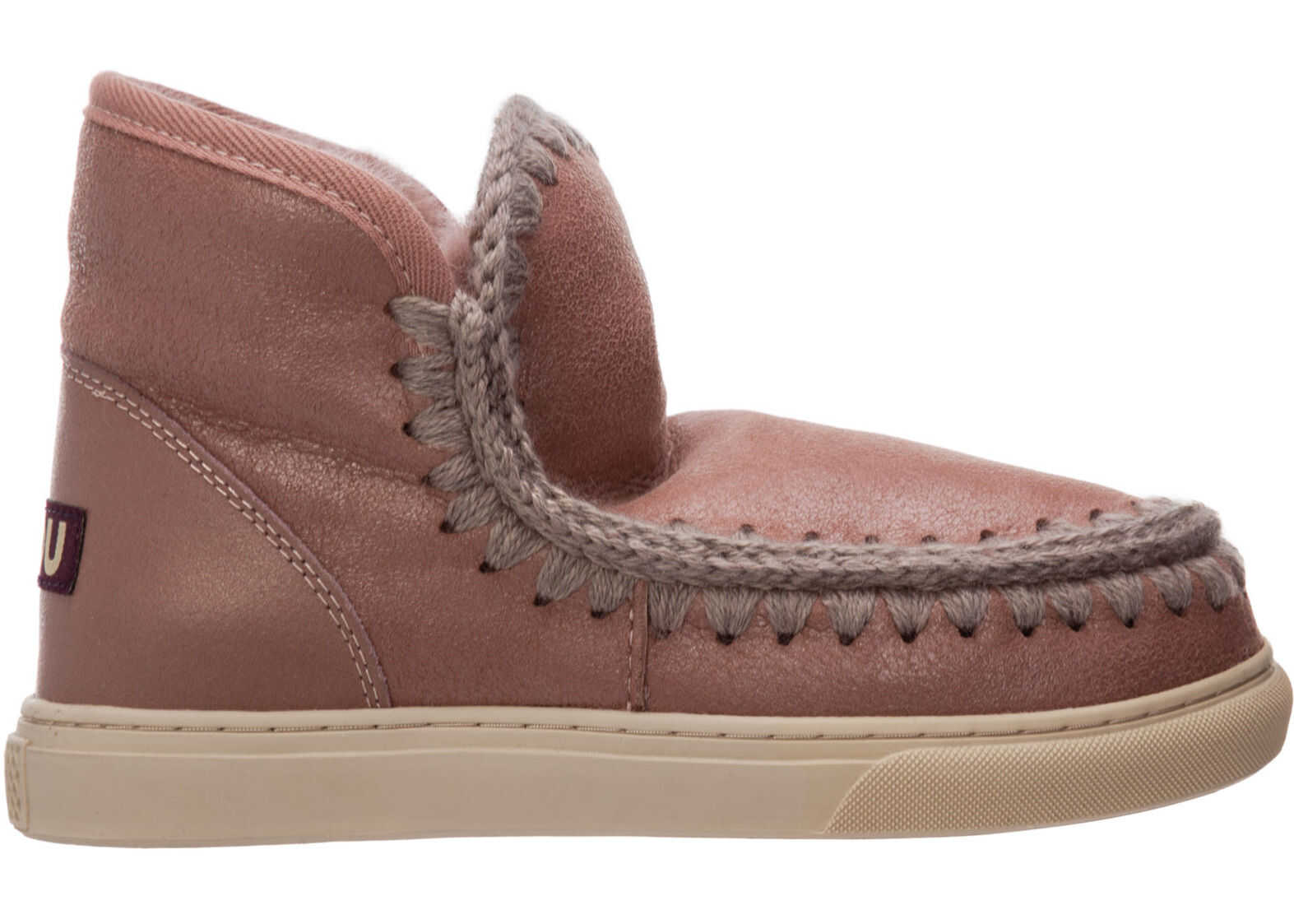 Mou Eskimo Sneaker MU.FW111000B Pink imagine b-mall.ro