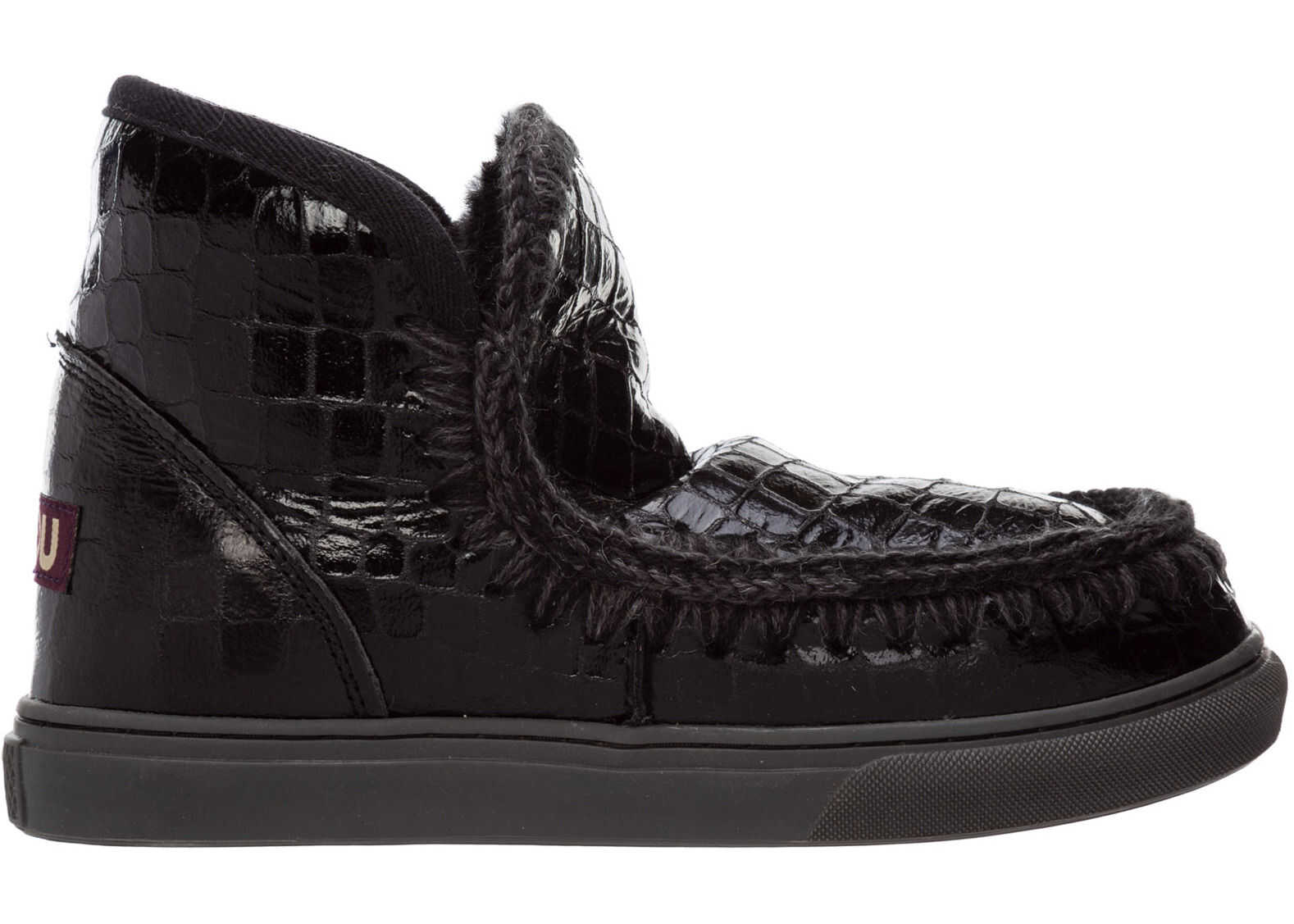 Mou Eskimo Sneaker MU.FW111000C Black imagine b-mall.ro