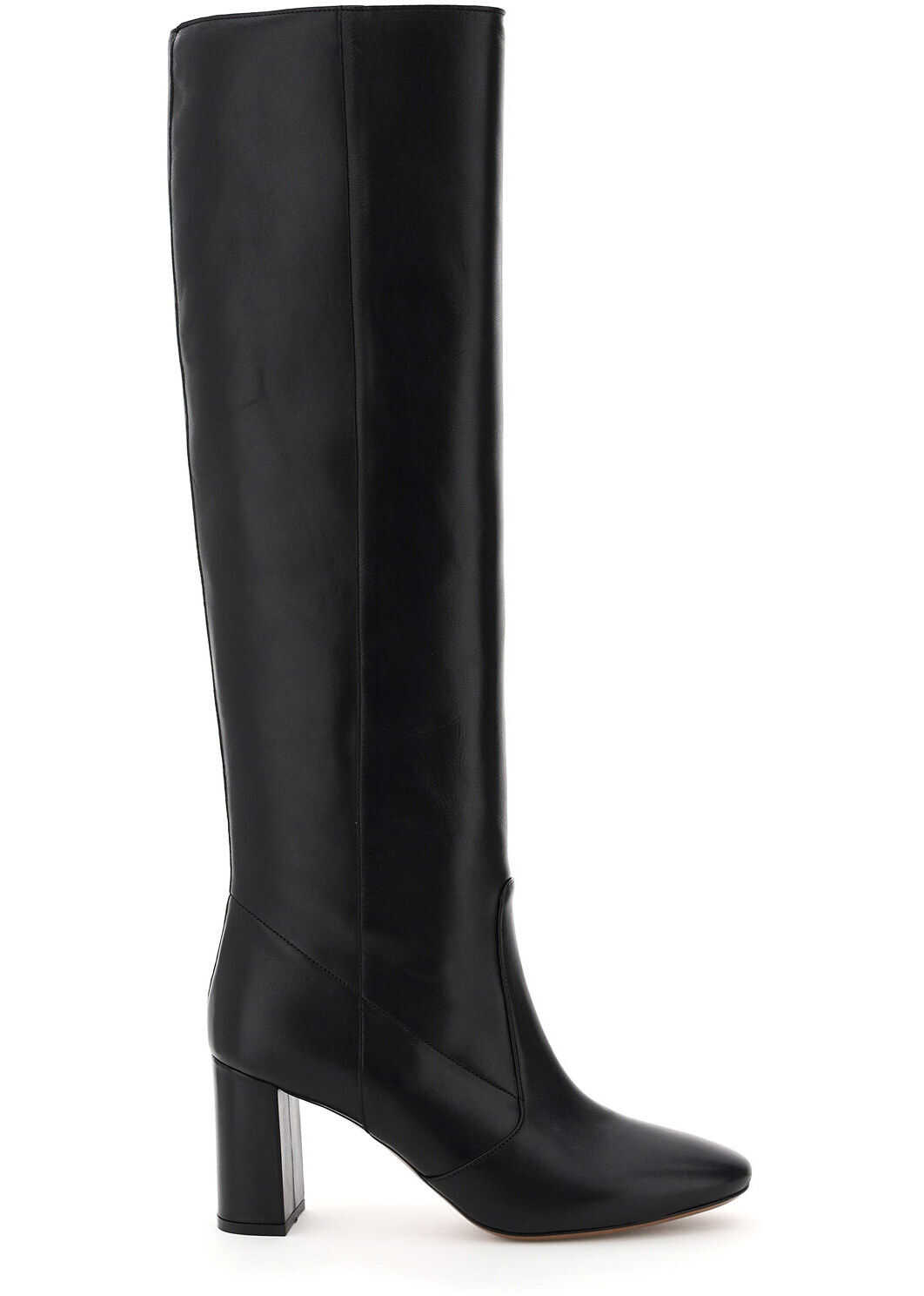 L'Autre Chose Nappa High Boots LDL078 75WP26115 BLACK imagine b-mall.ro