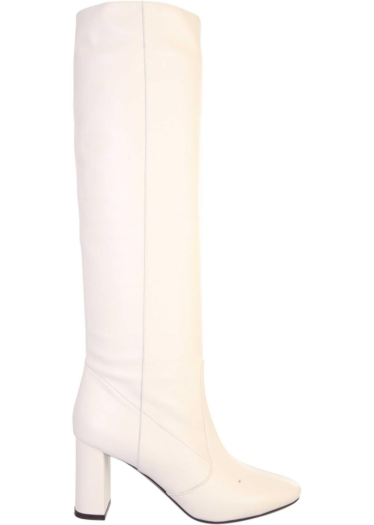 L'Autre Chose Tubular Boots LDL078_26153020 WHITE imagine b-mall.ro