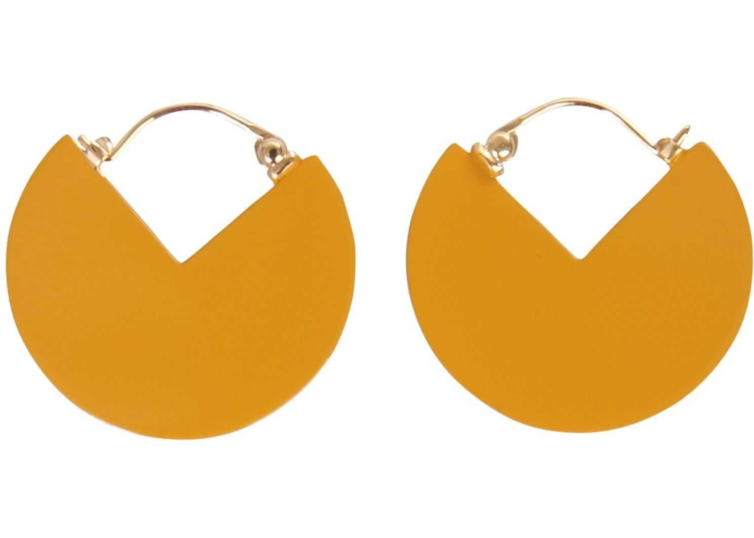 Isabel Marant 90° Earrings BEIGE