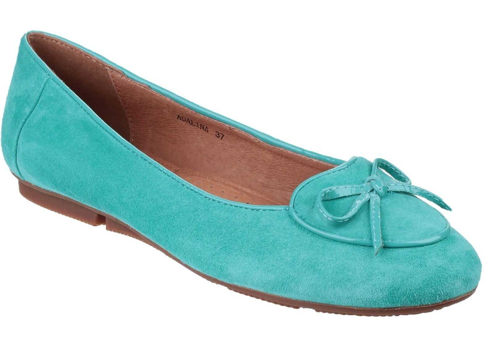 Riva Adalina Slip on Pump* Turquoise