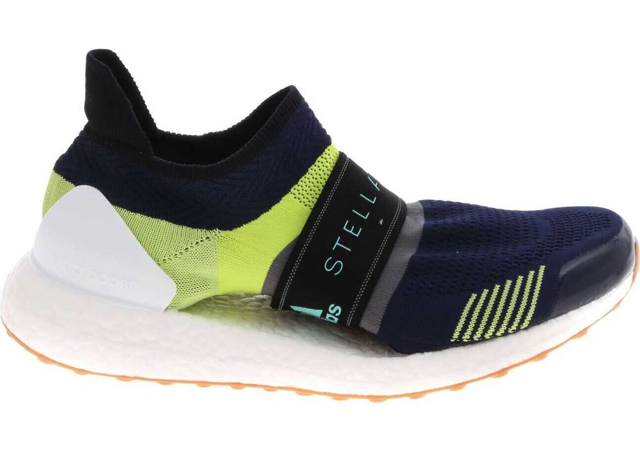 adidas by Stella McCartney Ultraboost X 3D Sneakers In Blue And Green* Blue