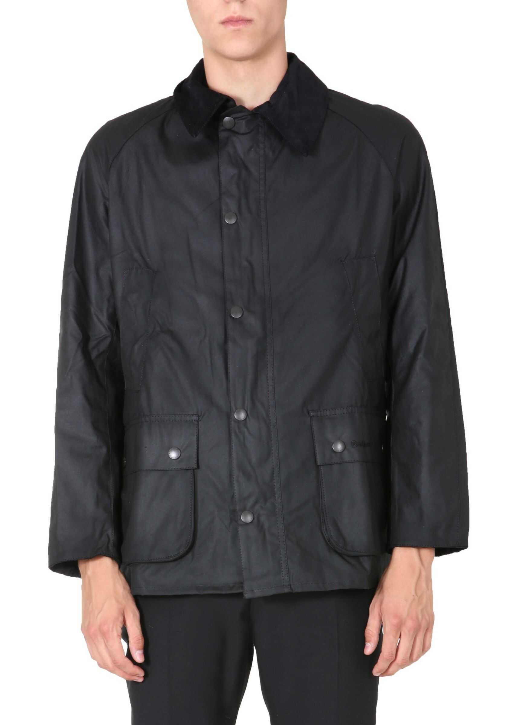 """Barbour """"Ashby"""" Jacket BLACK imagine"""