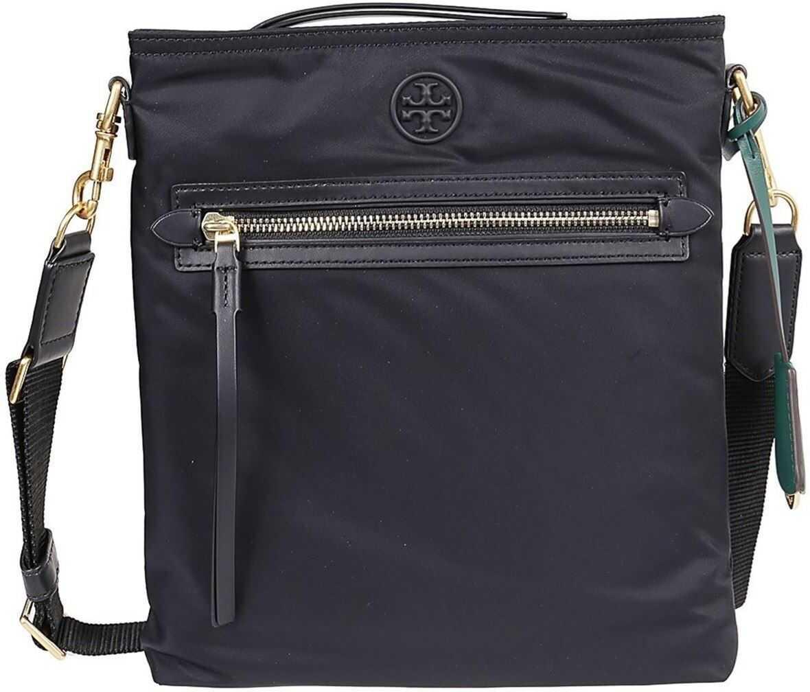 Tory Burch Perry Cross Body Bag In Black 74465 001 Black imagine b-mall.ro