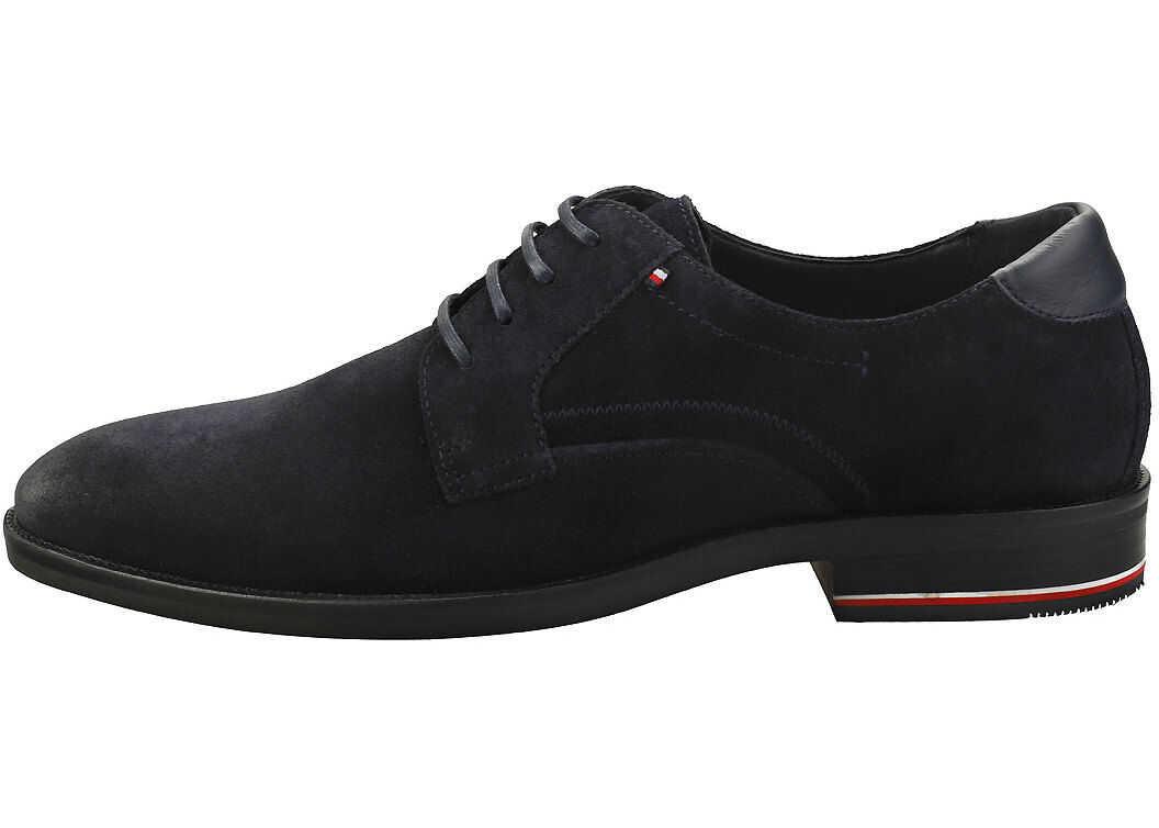 Tommy Hilfiger Signature Smart Shoes In Desert Sky Blue