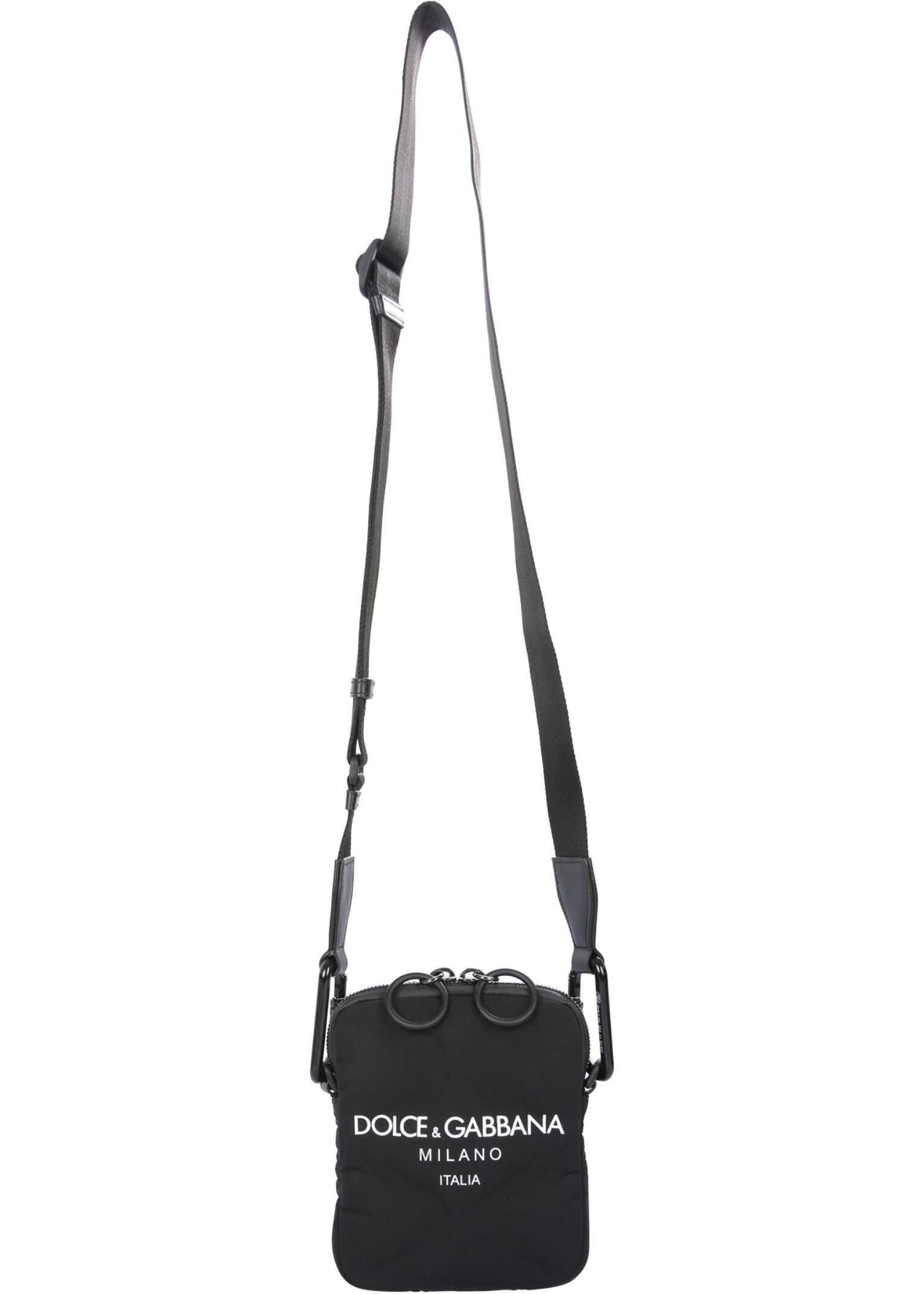 Dolce & Gabbana Bag With Logo BM1848_AW14089690 BLACK imagine b-mall.ro