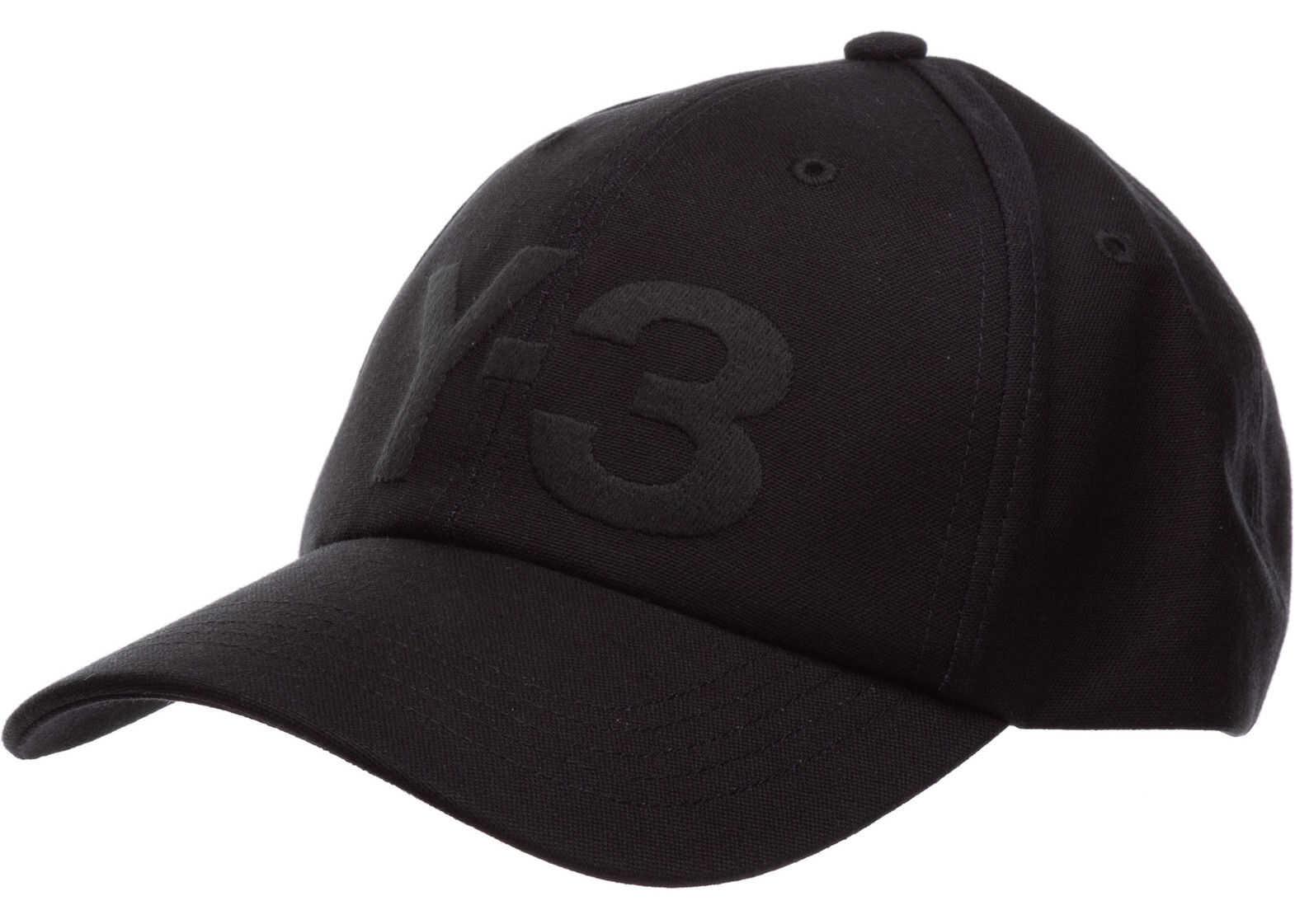 Y-3 Cap Logo Black