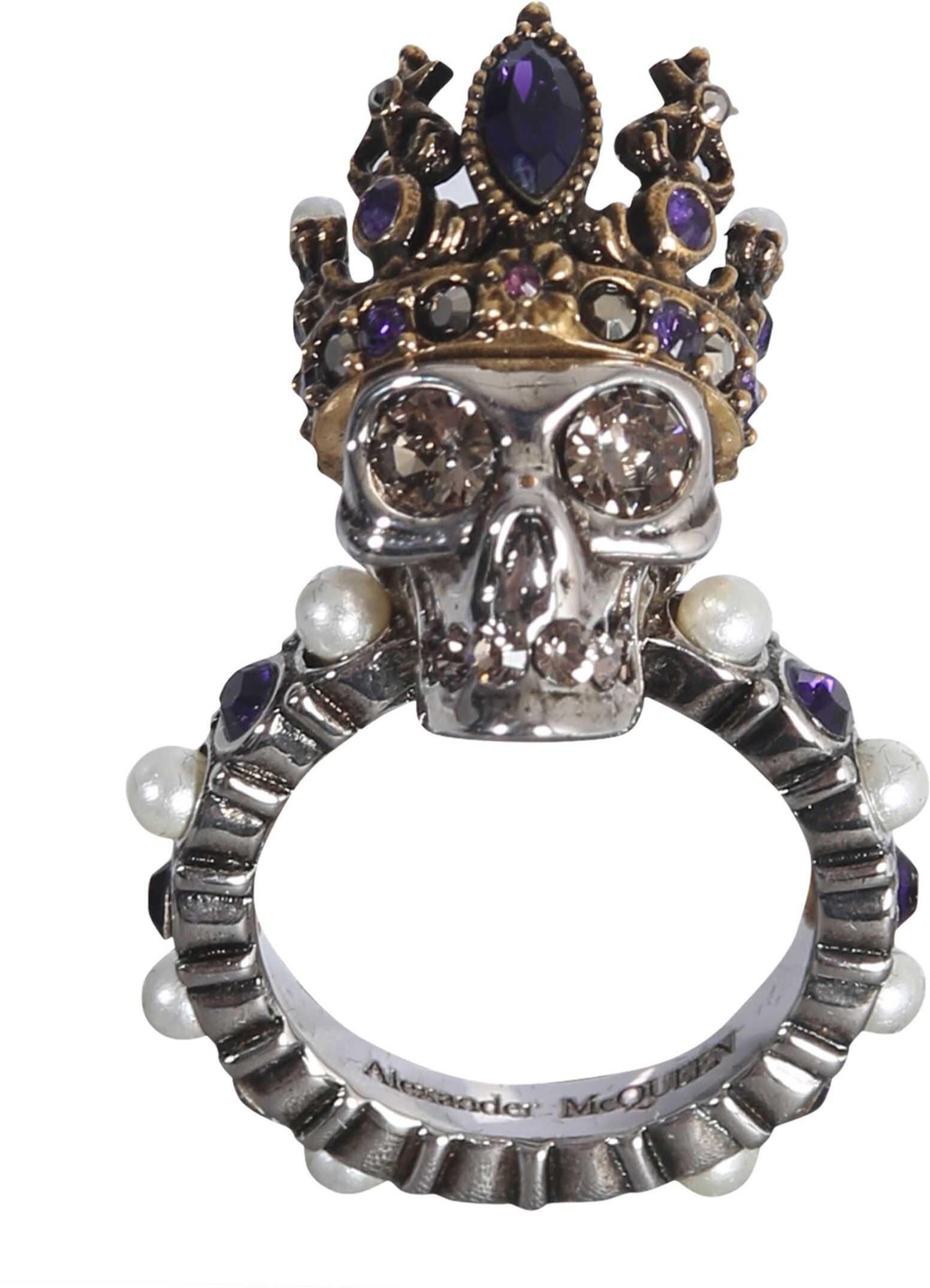 Skull Queen Ring