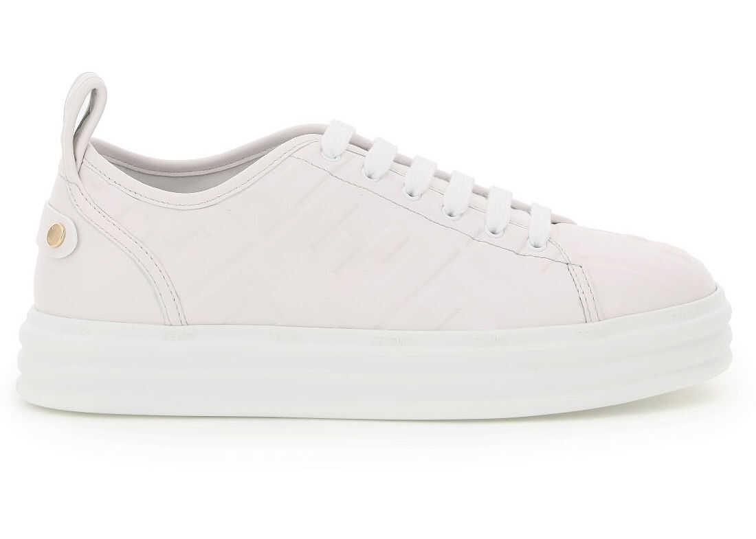 Fendi Ff Hf Nappa Sneaker ULTRA WHITE