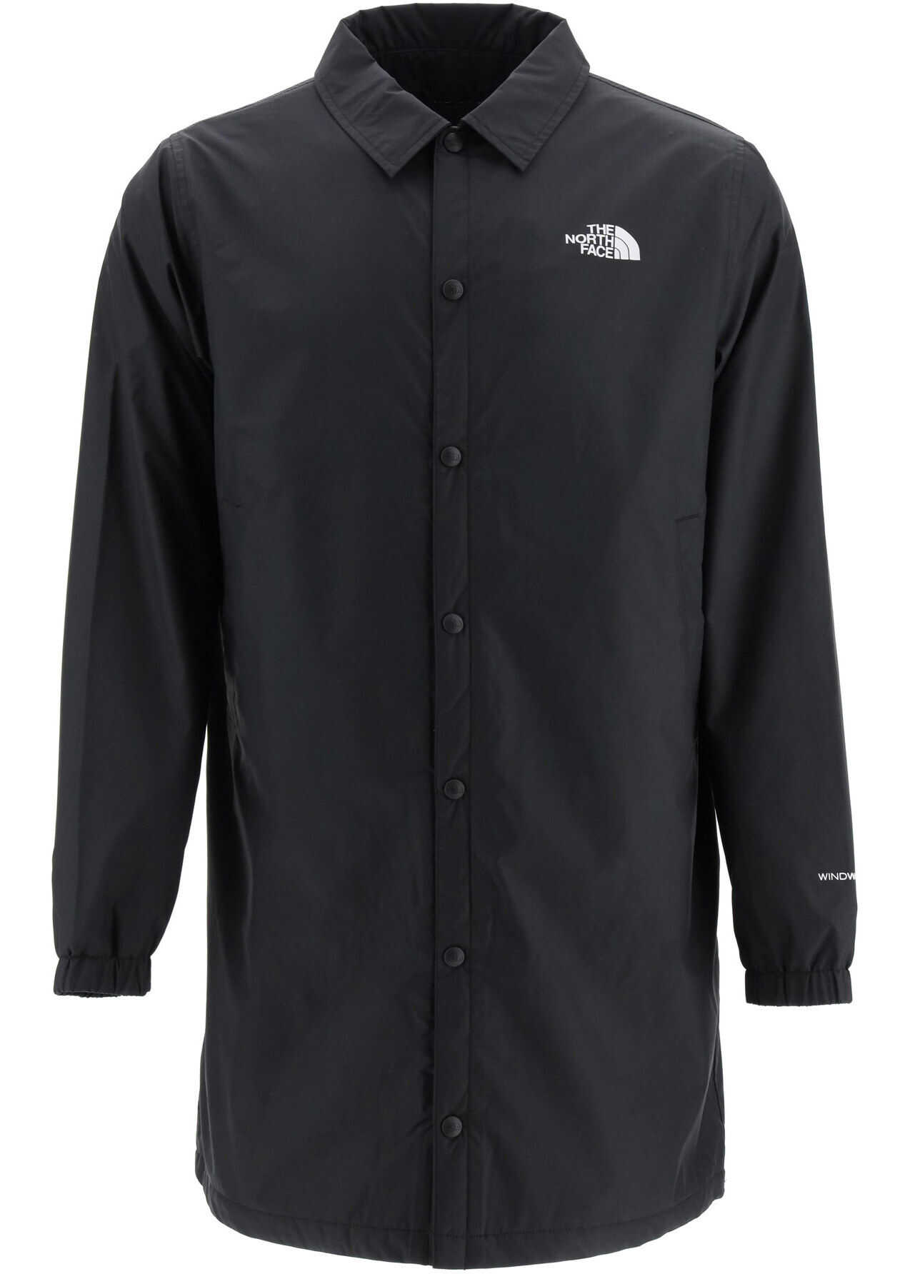 The North Face Coaches Telegraphic Rain Jacket BLACK