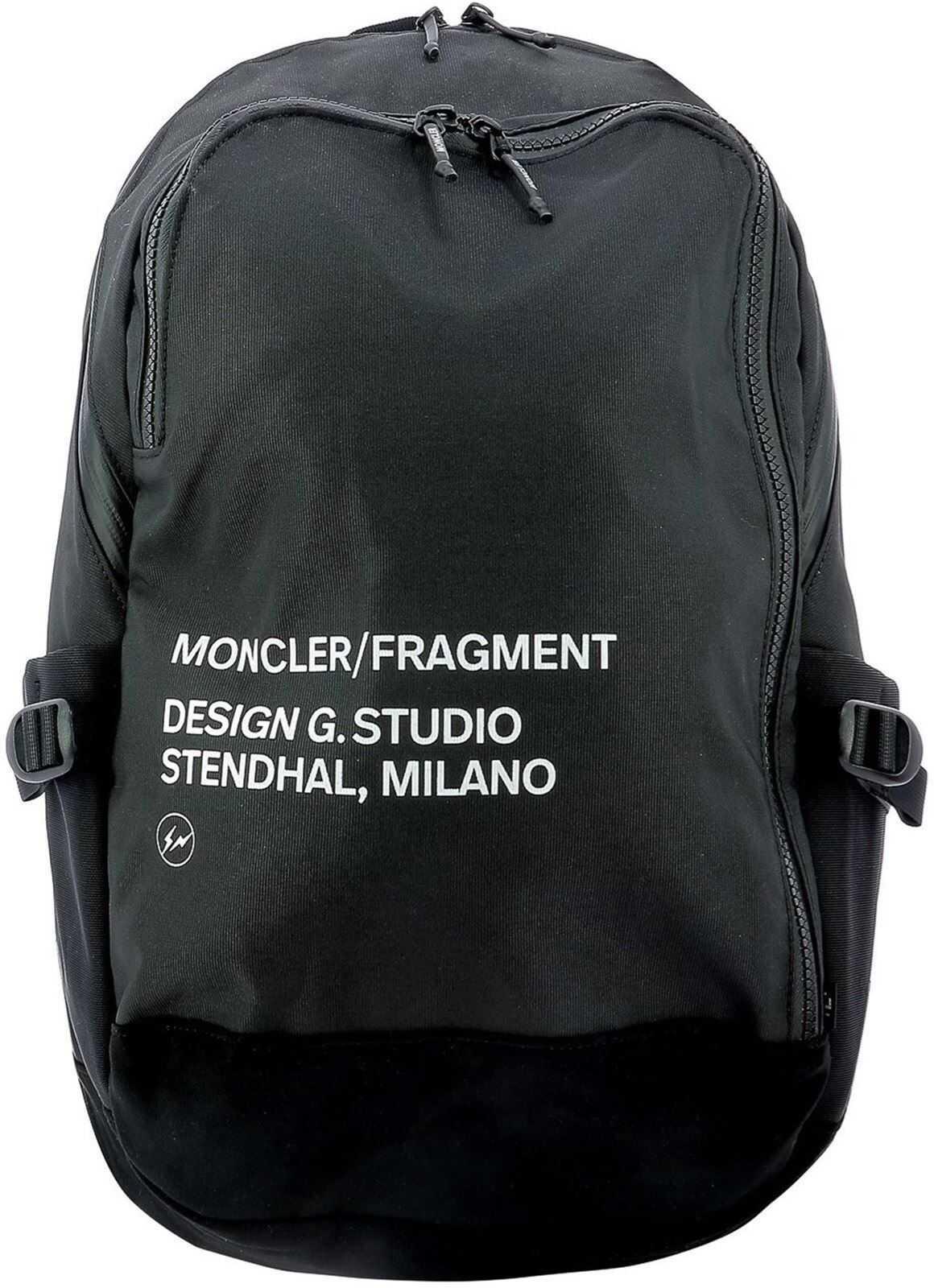 Moncler 7 Moncler Fragment Backpack In Black 5A70000 02SLR 999 Black imagine b-mall.ro