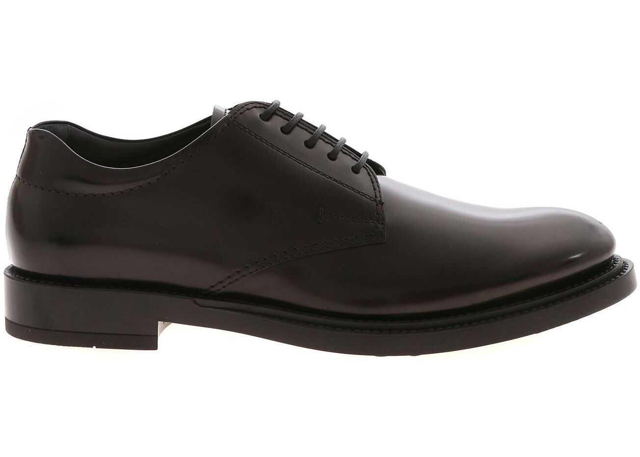 TOD'S Derby Shoes In Black XXM62C00C20AKTB999 Black imagine b-mall.ro