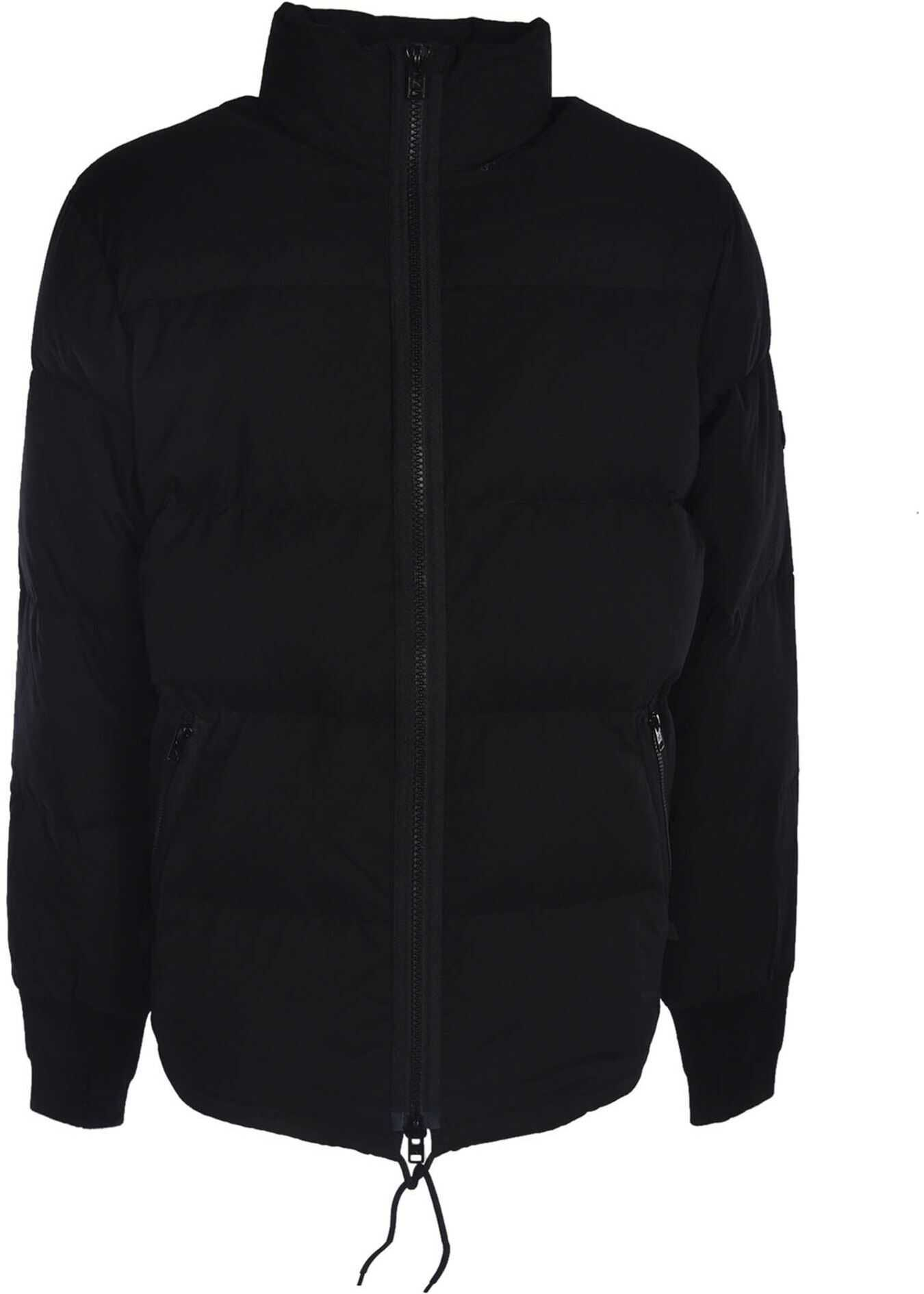 Kenzo Black Puff Jacket Black imagine