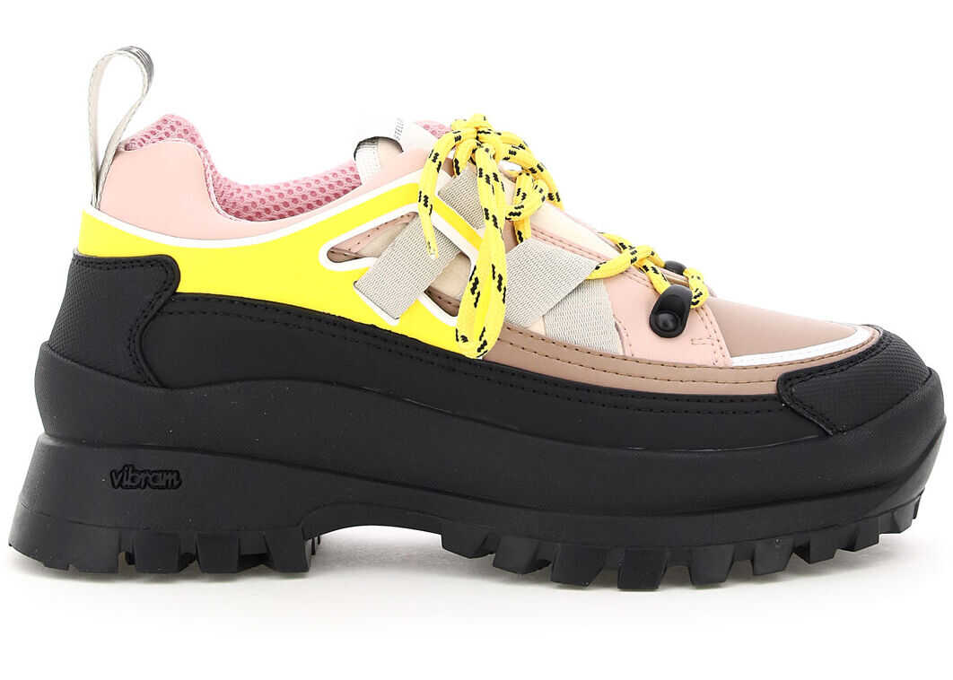 Stella McCartney Multicolour Lace-Up Shoes 800222 N0157 ROSE CAMME imagine b-mall.ro