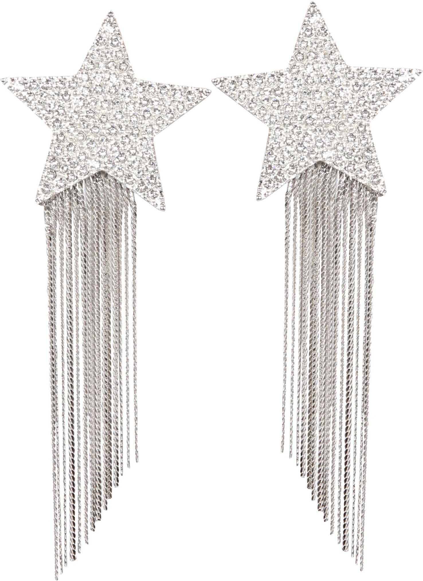 Saint Laurent Clip Earrings SILVER