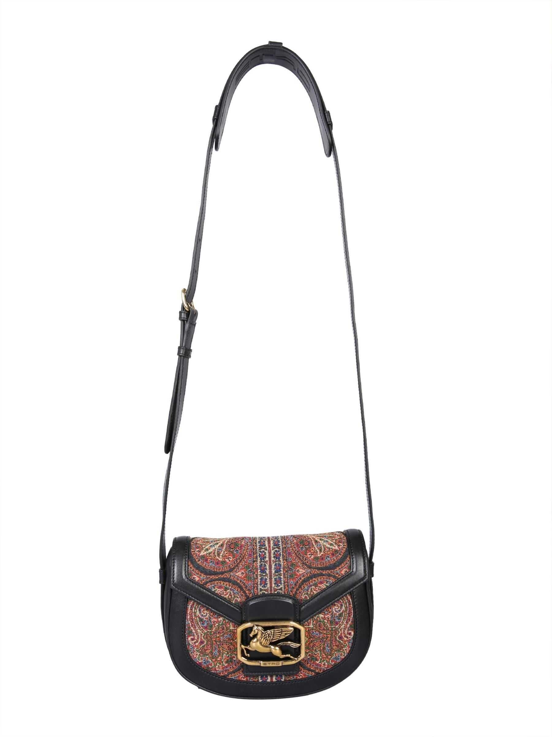 ETRO Pegaso Shoulder Bag 1I352_58488000 MULTICOLOUR imagine b-mall.ro