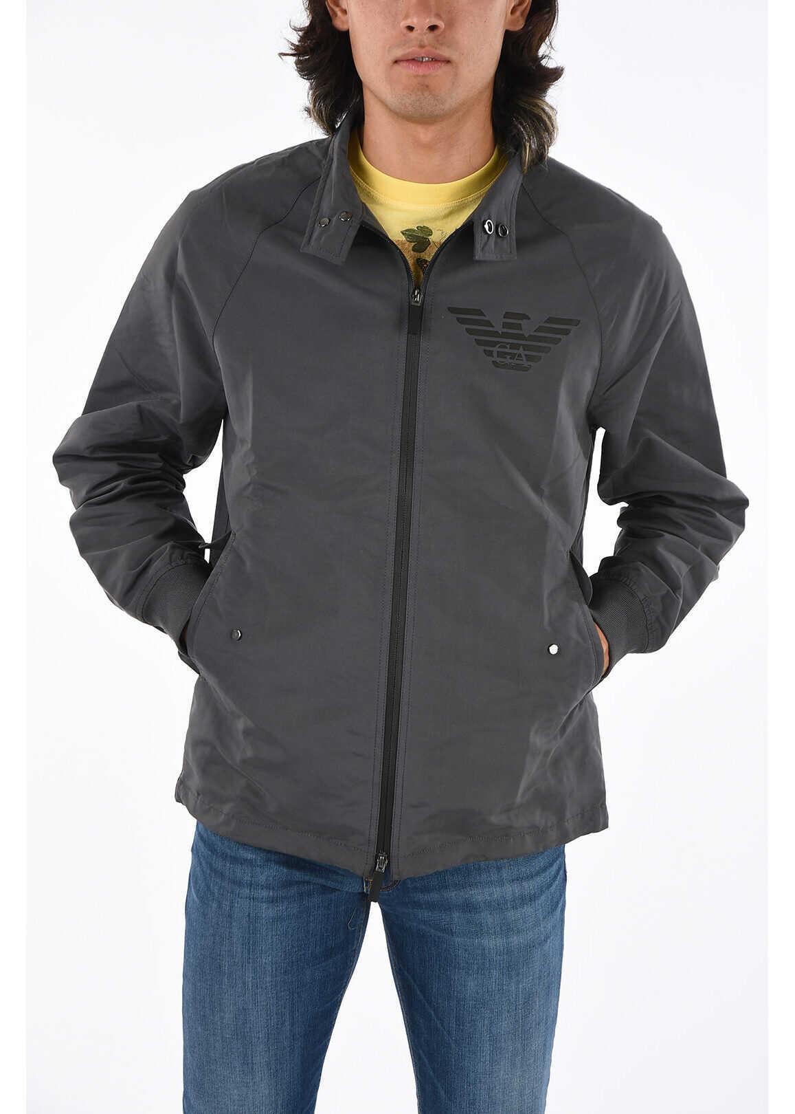 Armani EMPORIO Full Zip Jacket GRAY imagine