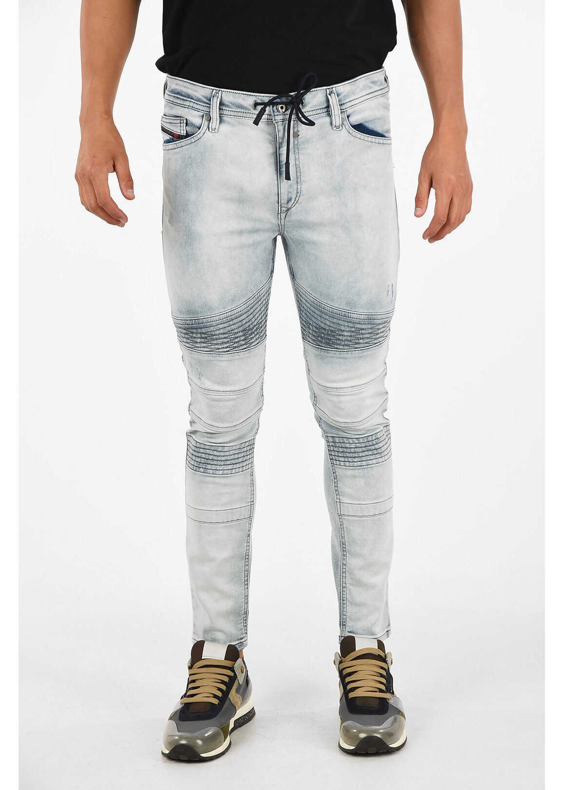 Diesel 15cm Skinny Fit BAKARI-NE Jeans BLUE imagine