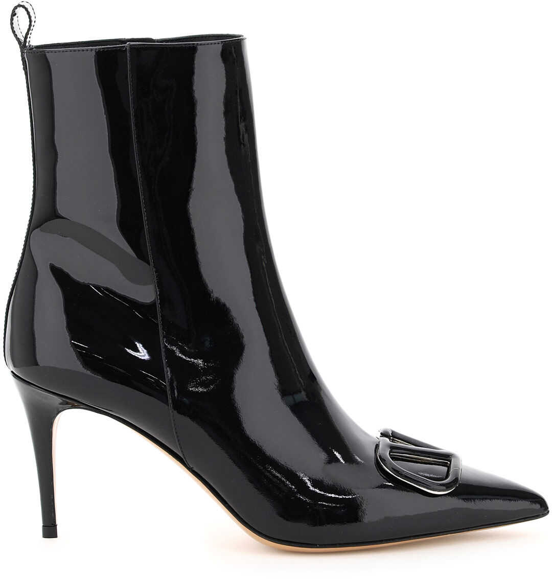 Vlogo Patent Ankle Boots