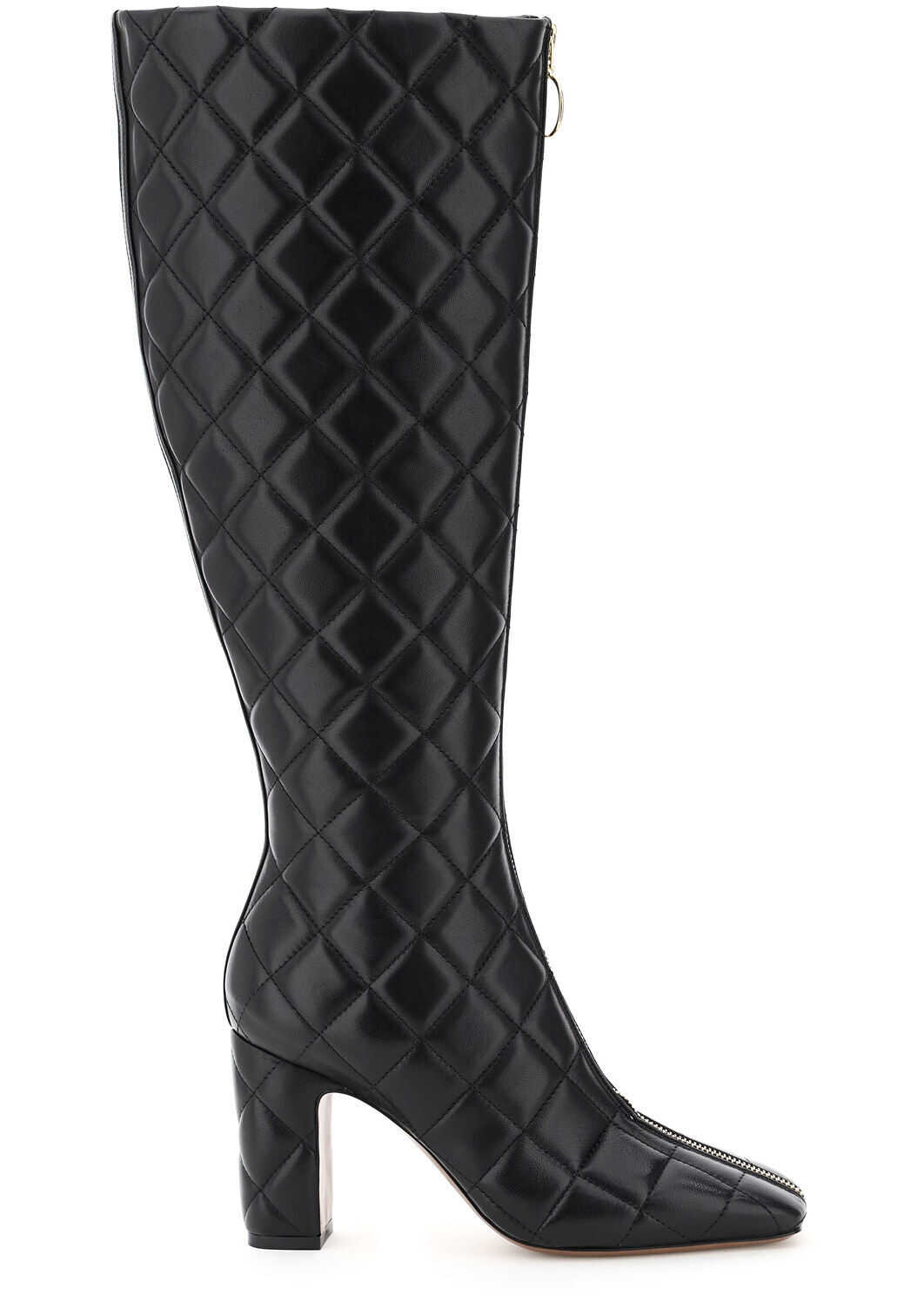 L'Autre Chose High Boots In Quilted Nappa LDM089 85WP2615 BLACK imagine b-mall.ro