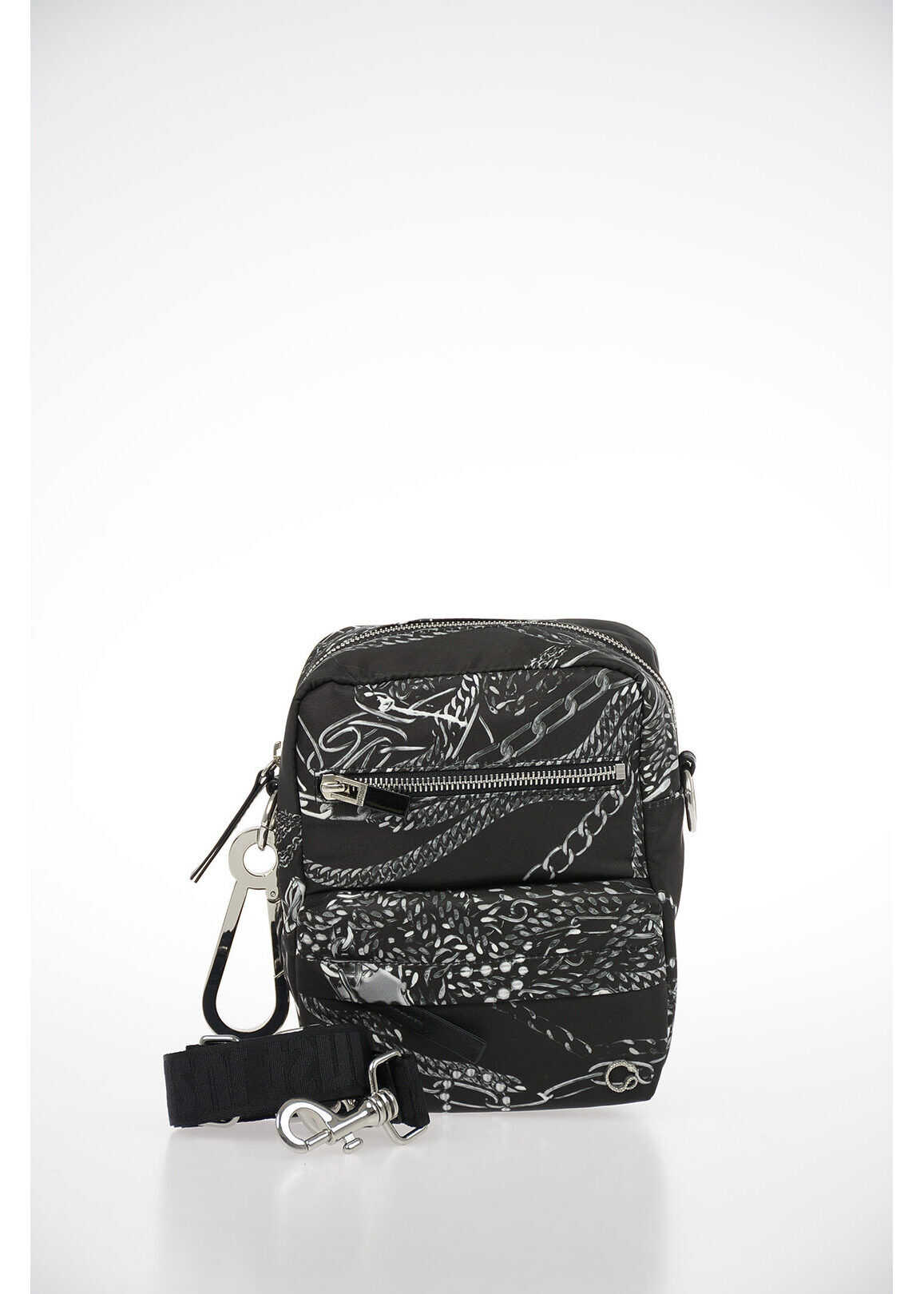Just Cavalli Printed Shoulder Bag MULTICOLOR imagine b-mall.ro