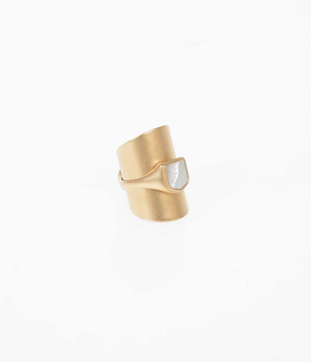 Maison Margiela MM11 Ring with Mother Of Pearl GOLD