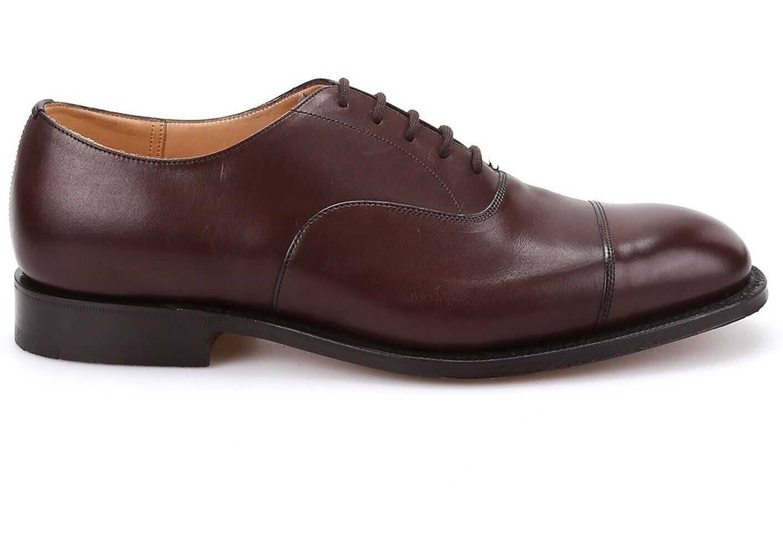 Church's Consul Oxford Shoes In Brown EEB003 F0A EV9XM Brown imagine b-mall.ro