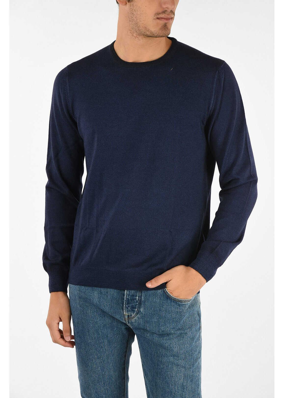 Fay crew-neck sweater BLUE