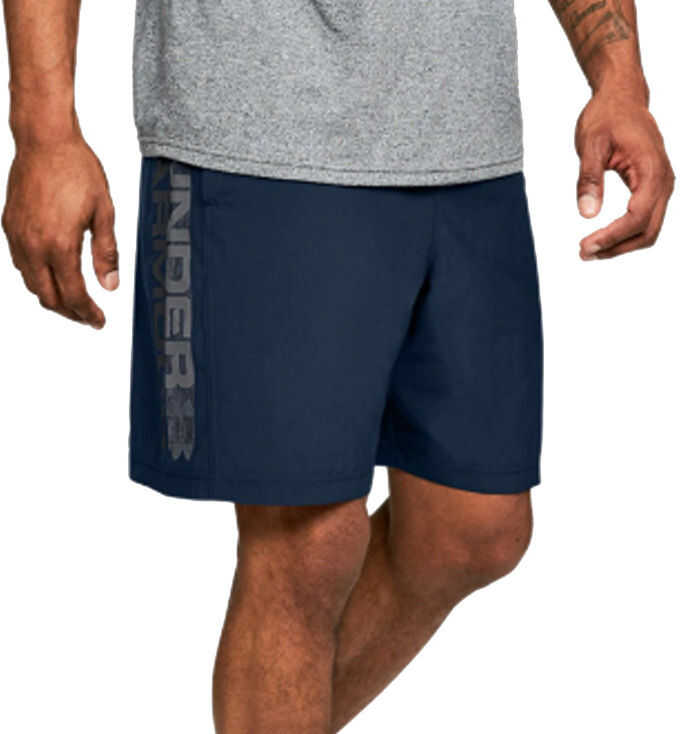 Under Armour Woven Graphic Wordmark Shorts* Blue