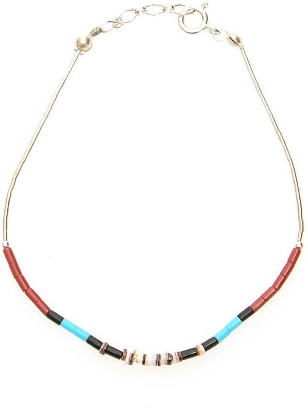 Jessie Western Multi Stone Bracelet SILVER