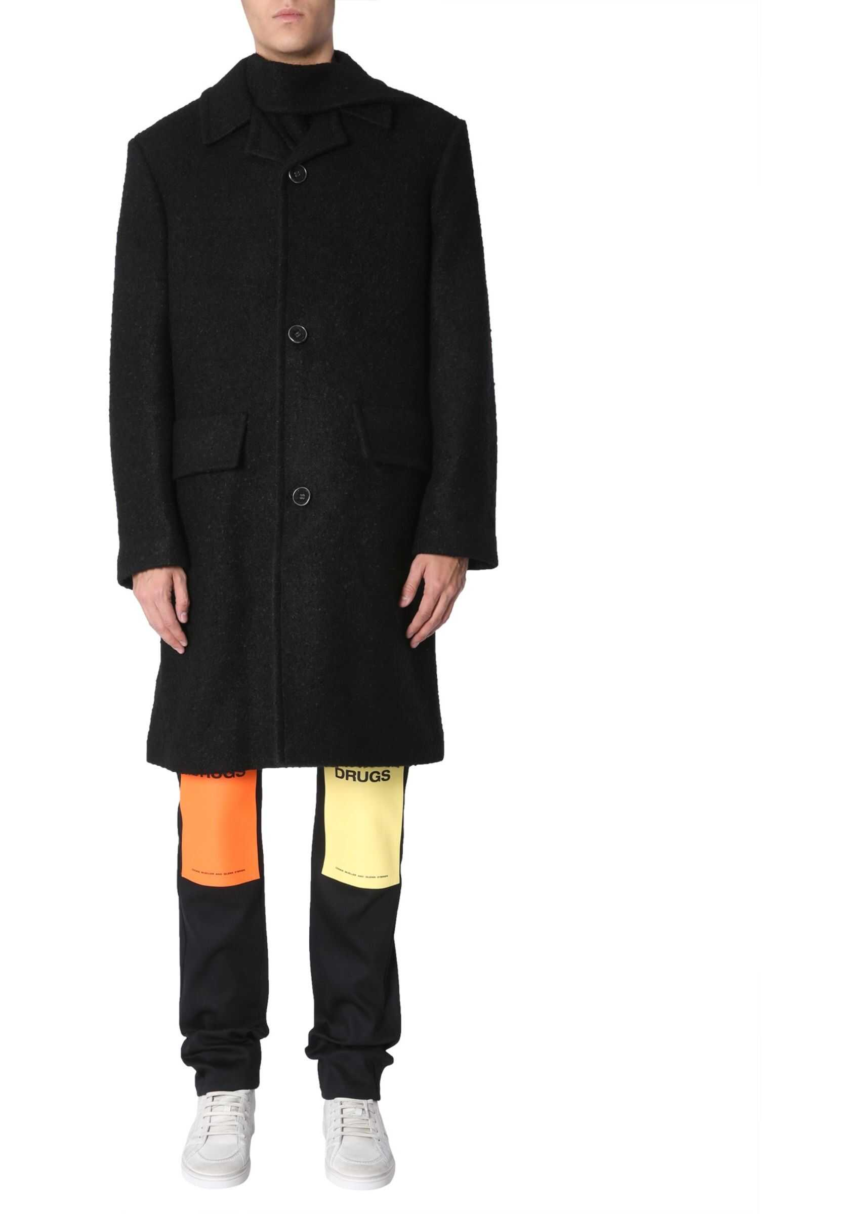 Raf Simons Classic Coat BLACK imagine
