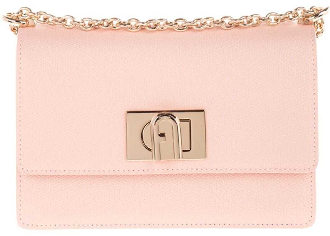 Furla Furla 1927 Shoulder Bag In Pink BAFKACOARE0001BR00 Pink imagine b-mall.ro