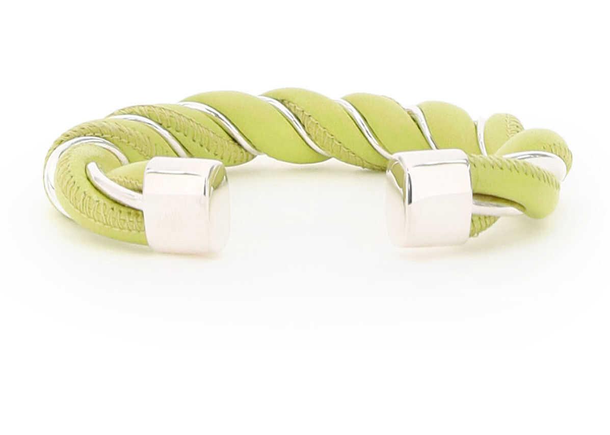 Bottega Veneta Torcillon Bracelet KIWI