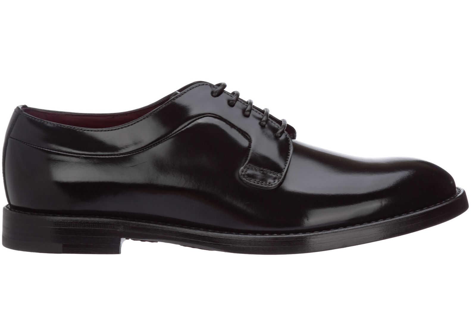Dolce & Gabbana Shoes Derby A10650A120380999 Black imagine b-mall.ro