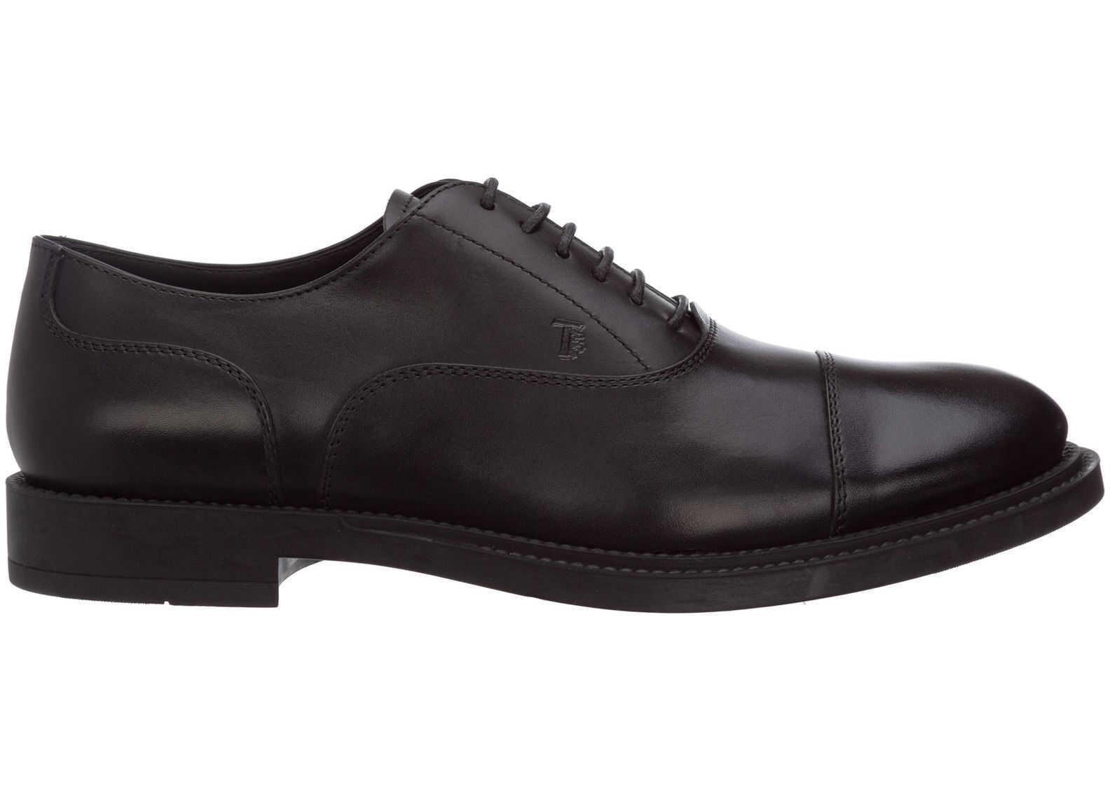 TOD'S Shoes Oxford XXM62C00N500LWB999 Black imagine b-mall.ro